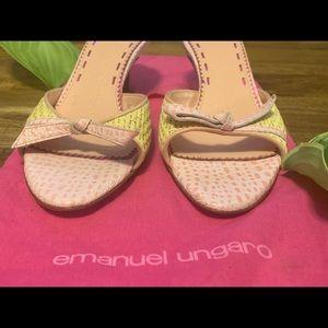 Beautiful Emanuel Ungaro Kitten Heel